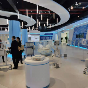 US Authentic Medical Technology Display and Sales Area Open and Integrated